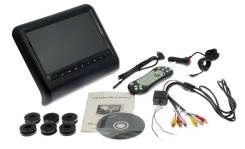 """Монитор на подголовник FD-900BL 9"""" с функцией DVD/USB/SD/Game"""