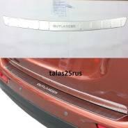 Накладка на бампер. Mitsubishi Outlander
