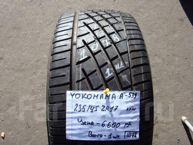 Yokohama A539. Летние, без износа, 1 шт