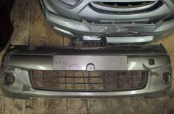 Бампер. Nissan Note, E11 Двигатели: CR14DE, K9K, HR16DE