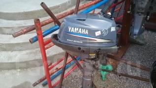 Yamaha. 4,00л.с., 4-тактный, бензиновый, нога L (508 мм), Год: 2007 год