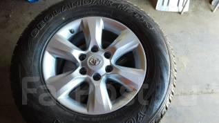 Продам шины с литьем. 7.5x17 6x139.70 ET-25 ЦО 106,0мм.