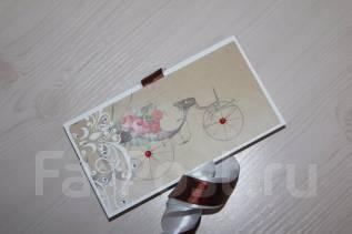 Шоколадница, открытка ручной работы на подарок каждому. Под заказ