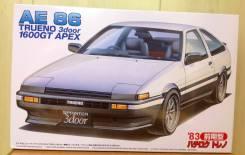 Сборная модель Toyota Sprinter Trueno AE86. +Подарок!