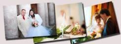Печать на холсте свадебных фото