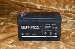 Аккумулятор на 7 ампер часов Security Force SF 1207