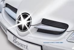 Молдинг решетки радиатора. Mercedes-Benz SLC-Class, R172 Mercedes-Benz SLK-Class, R172 Mercedes-Benz SLS AMG, R197