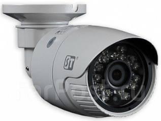 Камера видеонаблюдения цветная IP видеокамера 1 МП ST-120 М IP. Менее 4-х Мп, с объективом