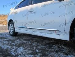 Накладка на дверь. Toyota Prius