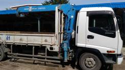 Isuzu Forward. Манипулятор , 8 200 куб. см., 5 000 кг., 9 м.