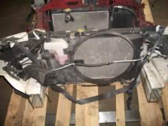 Радиатор охлаждения двигателя. Toyota Mark II, GX115, GX110