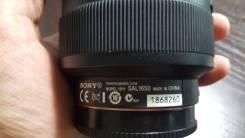 Sony 16-50mm f/2.8 (SAL-1650). Для SLT-A99, ILCA-77M2Q, ILCA-77M2M, ILCE-7SM2, ILCE-7RM2 и другие, диаметр фильтра 72 мм