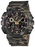 Часы CASIO GA-100CM-5A спортивные G-SHOCK