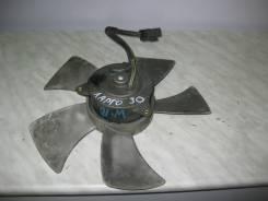 Вентилятор охлаждения радиатора. Nissan Avenir, W10