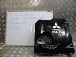Защита двигателя пластиковая. Mitsubishi Pajero Sport