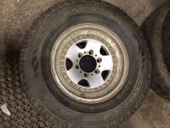 Bridgestone Dueler A/T 693. Всесезонные, износ: 80%, 4 шт