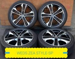 245-35-19, WEDS ZEA style SP, с датчиками, в наличии. 8.5x19 5x114.30 ET36 ЦО 73,1мм.