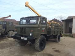 ГАЗ 66. Продается буровая машина БКМ 302 на базе газ 66, 1 500кг.