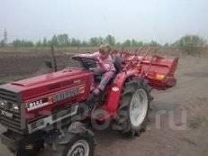Вспашу землю, огород, дачу. Услуги мини-трактора. Пахота. Вспашка.