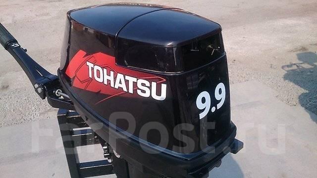 Tohatsu. 9,90л.с., 2-тактный, бензиновый, нога S (381 мм), 2015 год год. Под заказ
