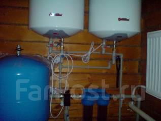 Монтаж водопровода, монтаж систем отопления , монтаж канализации