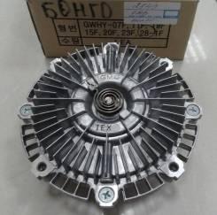 Муфта вентилятора J3 / EURO IV / 253274A100 / 253274A000 / GMB 28-1F / GWHY-19 / 23*55 / H=75 mm