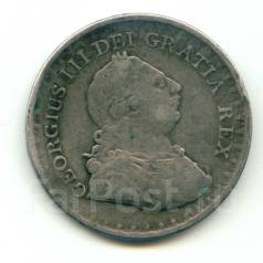 Англия 3 шиллинга Georg III 1811 Серебро