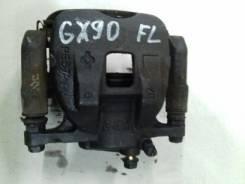 Суппорт тормозной. Toyota Cresta, SX90, LX90, GX90 Toyota Mark II, SX90, LX90, GX90 Toyota Chaser, SX90, LX90, GX90 Двигатели: 4SFE, 1GFE, 2LTE
