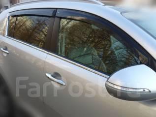 Ветровик на дверь. Kia K-series Kia Sportage, SL Двигатели: D4FD, D4HA, G4KD