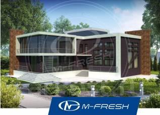 M-fresh Harley Dav!dson (Покупайте сейчас проект со скидкой 20%! ). более 500 кв. м., 2 этажа, 8 комнат, бетон
