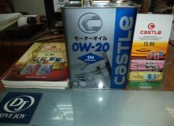 Масло моторное Castle OIL SN 0W-20 4L (V9210-3314)