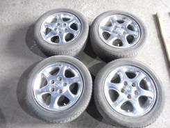 """Продам литье от Mazda 5*100 с хорошей летней резиной 195/55/15. 6.0x15"""" 5x100.00 ET50"""