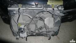 Радиатор охлаждения двигателя. Nissan Avenir, VSW10 Двигатель CD20