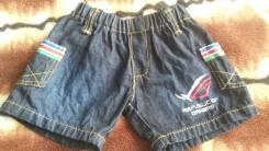 Шорты джинсовые. Рост: 74-80, 80-86 см