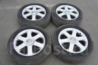 #Продам комплект колес, возможна отправка. 6.5x17 5x114.30 ET45 ЦО 65,0мм.