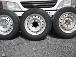 Продам 3 колеса Toyo Delvex M934 175/75R15 LT 103/101L в Белово. 5.0x15 6x139.70 ЦО 106,1мм.