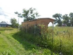 10 соток огорожен забором, на участке есть хозблок, туалет колодец. 1 000кв.м., собственность, электричество, вода