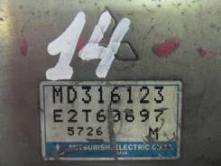 Блок управления двс. Mitsubishi Eterna, E52A Mitsubishi Emeraude, E52A Mitsubishi Galant, E52A Двигатель 4G93