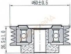 Натяжной ролик приводного ремня SUZUKI SX4/SWIFT III 1,3-1,6 05-/IGNIS 1,3-1,5 00-05 /JIMNY 1,3 98- SAT ST-49160-70AA0