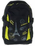 Школьный ранец ПАРИЖ 32*46*15см черно-желт
