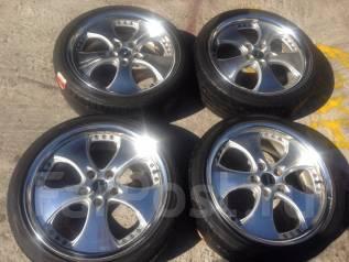 Продам отличные летние колеса 225/40/R18 на литых дисках. 7.5x18 5x114.30 ET45