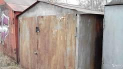Гаражи металлические. байкальский 203, р-н октяборьский, 18 кв.м. Вид снаружи