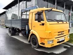 Камаз 4308. Бортовой грузовик с манипулятором, 6 700 куб. см., 7 000 кг.