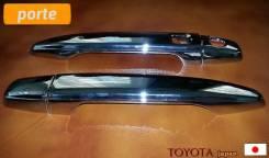 Накладка на ручки дверей. Toyota Porte, NNP10, NNP11