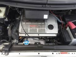 Радиатор охлаждения двигателя. Toyota Estima, MCR30, MCR40, MCR30W, MCR40W Двигатель 1MZFE