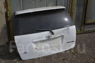 Дверь багажника. Toyota Corolla Fielder, NZE121G