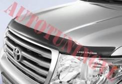 Дефлектор капота. Toyota Land Cruiser, URJ202W, URJ202, J200, VDJ200 Двигатели: 1URFE, 3URFE, 1VDFTV