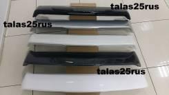 Сполер Prado 120 ( Дополнительный стоп ) Черный. Toyota Land Cruiser Prado, VZJ120, GRJ120W, KDJ121W, KDJ125W, GRJ125W, KDJ125, GRJ120, RZJ120, RZJ125...