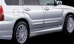 Обвес кузова аэродинамический. Subaru Forester, SG
