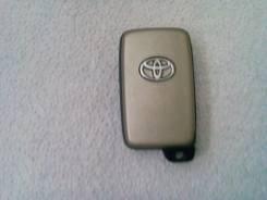 Ключ зажигания. Toyota Sai, AZK10 Toyota Mark X, GRX133, GRX130, GRX135 Toyota Corolla Fielder, NKE165, NRE160, NZE161, NZE164 Toyota Corolla Axio, NK...